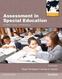 Assessment in Special Education