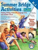 Summer Bridge Activities for Young Christians, Grades K - 1