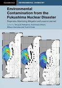 Environmental Contamination from the Fukushima Nuclear Disaster Book