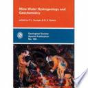 Mine Water Hydrogeology and Geochemistry