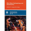 Mine Water Hydrogeology and Geochemistry