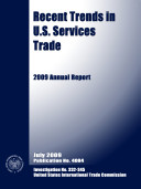Pdf Recent Trends in U.S. Services Trade, 2008 Annual Report, Inv. 332-345 Telecharger