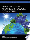 Design, Analysis and Applications of Renewable Energy Systems