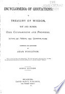 Encyclop Dia Of Quotations