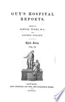 Guy s hospital reports Book