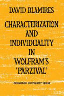 Characterization and Individuality in Wolfram s  Parzival
