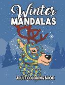 Winter Mandalas Adult Coloring Book
