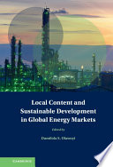 Local Content and Sustainable Development in Global Energy Markets