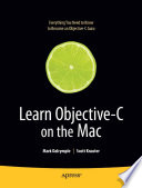 Learn Objective C On The Mac