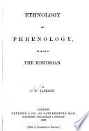 Ethnology and phrenology