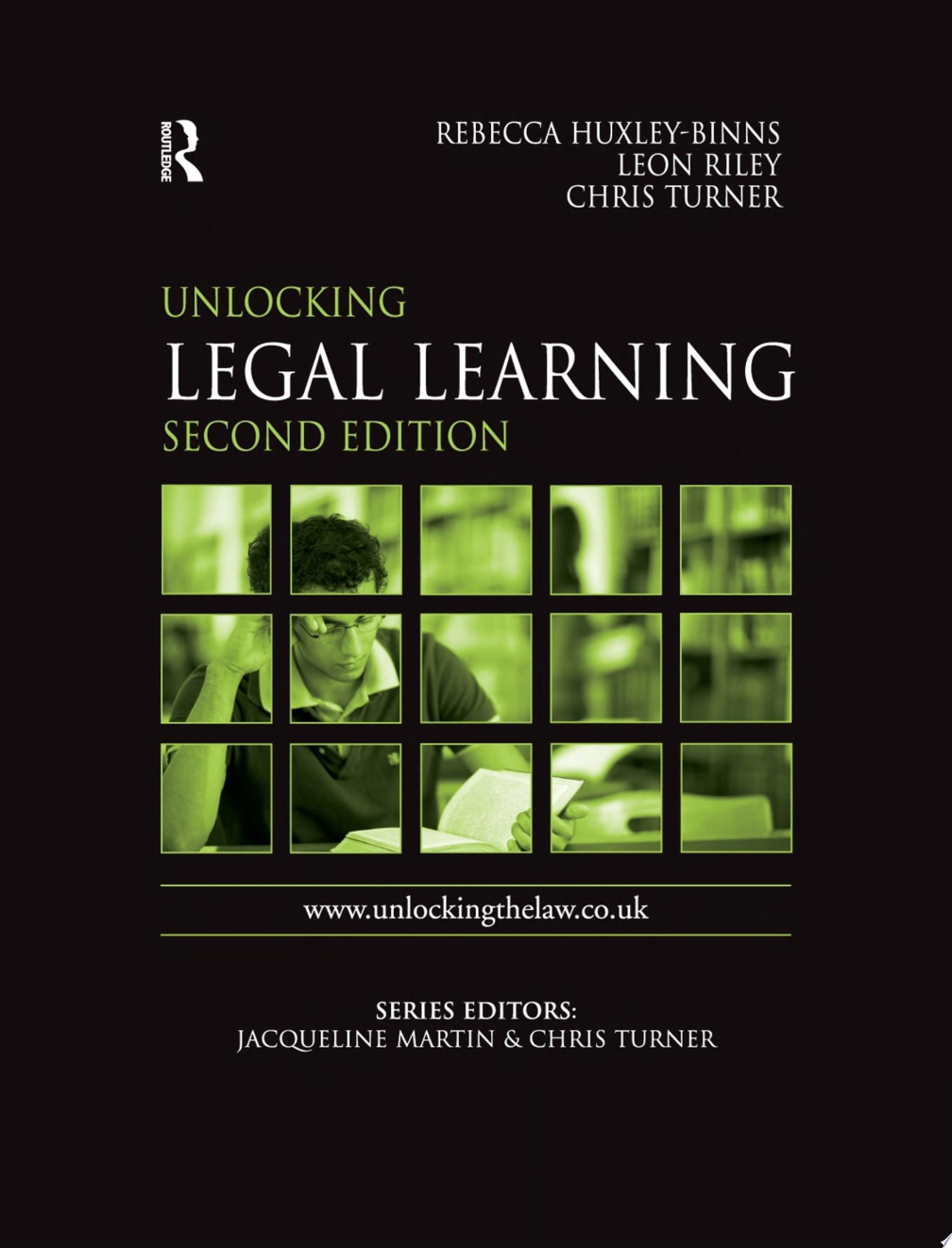 Unlocking Legal Learning