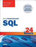 SQL in 24 Hours, Sams Teach Yourself