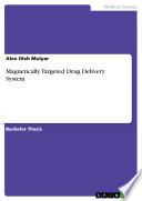Magnetically Targeted Drug Delivery System