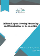 Pdf India and Japan: Growing Partnership and Opportunities for Co-operation Telecharger