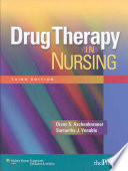 Drug Therapy in Nursing Book