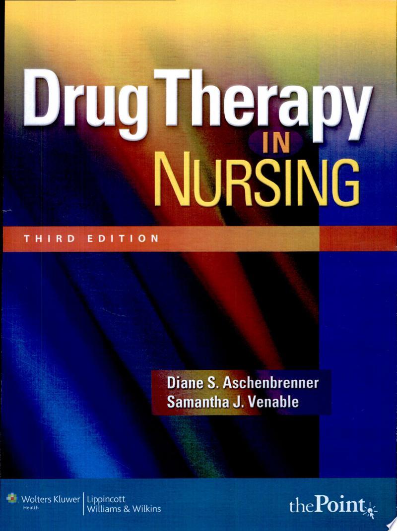 Drug Therapy in Nursing banner backdrop