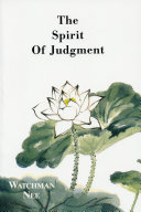 Pdf The Spirit of Judgment