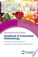 Handbook of Antioxidant Methodology