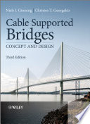 """""""Cable Supported Bridges: Concept and Design"""" by Niels J. Gimsing, Christos T. Georgakis"""