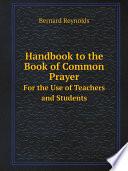 Handbook to the Book of Common Prayer