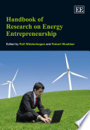 The Handbook of Research on Energy Entrepreneurship Book