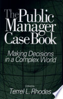 The Public Manager Case Book Book PDF