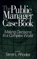 The Public Manager Case Book