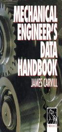 Pdf Mechanical Engineer's Data Handbook Telecharger