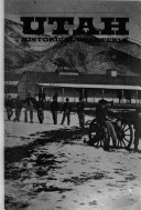 Utah Historical Quarterly Book