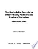 Undeniable Secrets of Performance Appraisal Workshop
