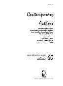 Contemporary Authors New Revision Book PDF