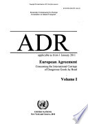 ADR, Applicable as from 1 January 2011