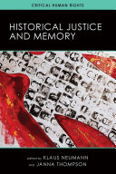 Historical Justice and Memory - Seite 221