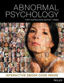 Cover of Abnormal Psychology 1E Hybrid