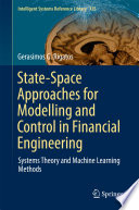 State Space Approaches for Modelling and Control in Financial Engineering
