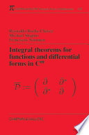 Integral Theorems for Functions and Differential Forms in C(m)