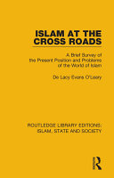 Islam at the Cross Roads Pdf/ePub eBook