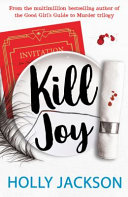 Kill Joy     World Book Day 2021