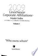 LexisNexis Corporate Affiliations