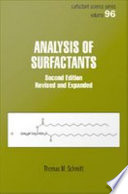 Analysis of Surfactants  Second Edition