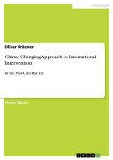 Chinas Changing Approach to International Intervention Pdf/ePub eBook