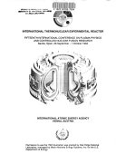 Plasma Physics and Controlled Nuclear Fusion Research  1994