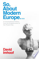 So  About Modern Europe