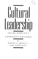 Cultural Leadership Book