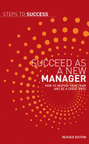 Succeed as a New Manager