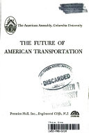 The Future Of American Transportation