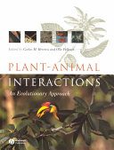 Plant Animal Interactions