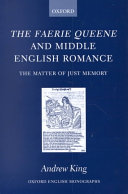The Faerie Queene and Middle English Romance