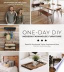 One-Day DIY: Modern Farmhouse Furniture