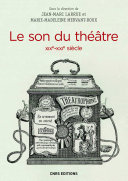 Pdf Le Son du théâtre (XIXe-XXIe siècle) Telecharger